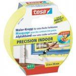 tesa® 56271 Precision Indoor Masking Tape Yellow 38mm x 25m