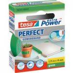 tesa® 56341 Extra Power Fabric Tape – Green – 19mm x 2.75m