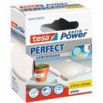 tesa® 56343 Extra Power Fabric Tape – White – 38mm x 2.75m