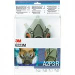 3M™ DE272917373 6223M™ Gas & Vapour Mask Set A2P3R