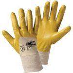 Worky 1496 Flex-Nitril Nitrile Glove Silicon Free – Yellow – Size 7