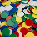 Invicta 011059 22mm Coloured Counters Pack of 500