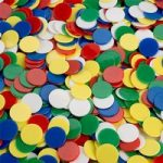 Invicta 075059 16mm Coloured Counters Pack of 1000