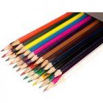 Classmaster Assorted Colouring Pencils Wallet 24