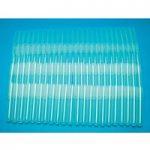 Medline Ultra Clear Polypropylene Tubes 13x75mm, – Pack of 100