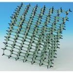 Cochranes Of Oxford Minit ProView Molecular Model Diamond Kit 450 …