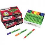 Show-Me Slim Barrel Drywipe Pens box of 50 Assorted