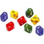 Ed Tech Jumbo Place Value Dice Pack of 8 – Th.H.T.U