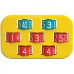 Ed Tech Number Jumble Tumble Pack of 5 (Magimixer)