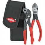 Knipex 00 20 72 V02 Minis In Belt Pouch Pliers Set – 2 Piece