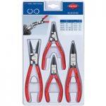 Knipex 00 20 03 V02 Circlip Pliers Set – 4 Piece