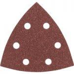 Bosch 2608605601 Delta Sandpaper Hook & Loop Perforated 80 Grit 93…