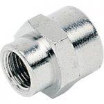 ICH 30002 Sleeve Adaptor G1/8 to G1/8 60 bar Brass NP