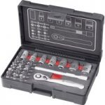 Toolcraft 819263 Bit & Socket Set 1/4″ – 26 Piece