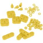 VEX IQ Basic Motion Accessory Pack (Yellow)