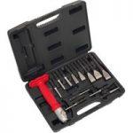 Sealey AK9215 Interchangeable Punch & Chisel Set 13pc