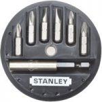 Stanley 1-68-737 Insert Bit Set Phillips/Slotted/Pozidriv 7 Piece