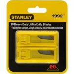 Stanley 1-98-460 1992B Heavy Duty Utility Knife Blades – Twin Pack…