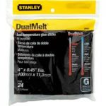 Stanley 1-GS20DT Dual Temp Glue Sticks 11.3mm x 100mm (24)