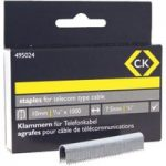 CK Tools 495024 Telecom cable staples 4.5mm wide x 10mm deep Box O…