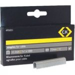 CK Tools 495021 Cable Staples 7.5mm wide x 11.1mm deep Box Of 1000