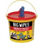Big Wipes 2427 4×4 Heavy-Duty Cleaning Wipes Bucket of 240