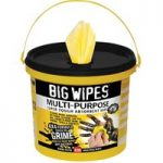 Big Wipes 2417 4×4 Multi-Purpose Cleaning Wipes Bucket of 300