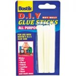 Bostik 80712 Glue Sticks 12mm x 100mm For DIY Hot Melt Glue Gun – …