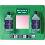 Eyecare Solutions 30EWST21 Eye Wash Station with Label and Mirror