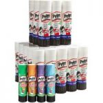 Pritt 2359266 Glue Sticks 43g Pack of 34 + 4 Free Coloured