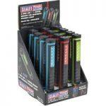 Sealey LED028DB Magnetic Pocket Light 6 SMD + 1 UV LED – Display B…