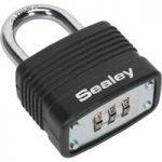 Sealey PL301C Steel Body Combination Padlock 40mm