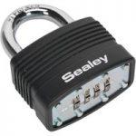 Sealey PL302C Steel Body Combination Padlock 46mm