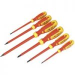 Sealey AK6122 Screwdriver Set 6pc Vde/tuv/gs Approved