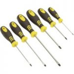Siegen S0615 Softgrip Screwdriver Set 6pc