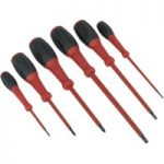 Siegen S0756 Screwdriver Set 6pc Electrician's Vde/tuv/gs Approved