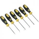 Siegen S0774 Mini Pick and Screwdriver Set 6pc