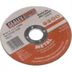 Sealey PTC/125CET Cutting Disc Ø125 x 1.2mm 22mm Bore