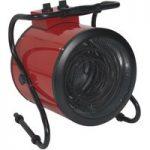 Sealey EH9001 Industrial Fan Heater 9kW 415V 3-Phase