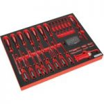 Sealey TBTP04 Tool Tray with Screwdriver Set 72pc