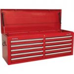 Sealey AP5210T Topchest 10 Drawer with Ball Bearing Runners – Red