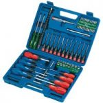 Draper 40850 70 Piece Screwdriver, Socket and Bit Set