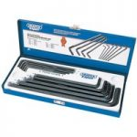 Draper Expert 26939 10 Piece Metric Extra Long Pattern Hexagon Key Set