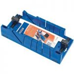 Draper 9789 Mitre Box with Clampng Facility370mm x 120mm x 70mm