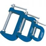 Draper 36779 3 Piece C Cramp Set