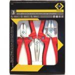 CK Tools T3803 RedLine Pliers Set Of 3
