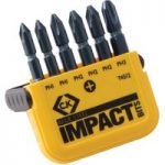 CK Tools T4512 Blue Steel Impact Screwdriver Bit – PH Set of 6