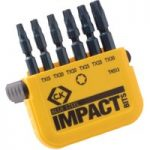 CK Tools T4513 Blue Steel Impact Screwdriver Bit – TX Set of 6