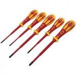 CK Tools T49283 Dextro VDE Slim Screwdriver Set – 5 pcs