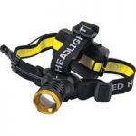 C.K T9621 LED Head Torch 200 Lumens
